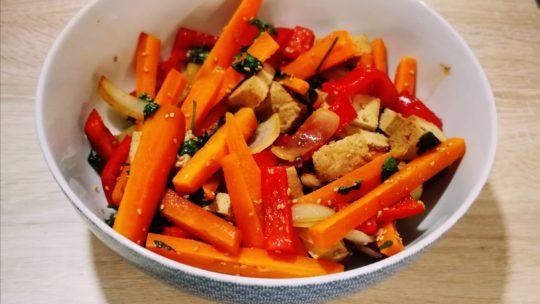 Wok de légumes et Tofu