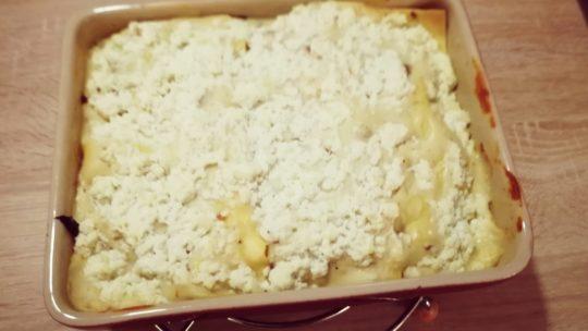 Lasagne à la brousse et épinards